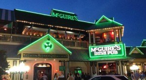 What You'll Find Inside McGuire's Irish Pub In Florida Is Unforgettable