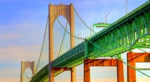 Most People Have Never Seen Rhode Island's Newport Bridge Like This Before