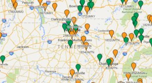 This Map of Missing Persons in Tennesse Is Wildly Disturbing