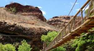 This Terrifying Swinging Bridge In Hawaii Will Make Your Stomach Drop
