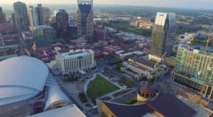 You've Never Seen The Nashville Skyline Like This Before – It's Amazing