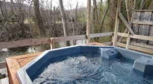 There's No Better Place To Be Than This Hot Spring In North Carolina