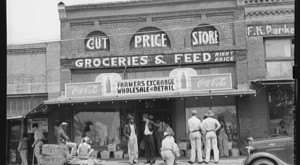 What Every Small Town In Texas Had In The 1930s. It Was A Simpler Time.