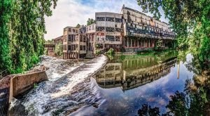 The Remnants Of This Abandoned Mill In Delaware Are Hauntingly Beautiful