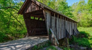 These 2 Beautiful Covered Bridges In North Carolina Will Remind You Of A Simpler Time