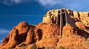 There's No Chapel In The World Like Chapel Of The Holy Cross In Arizona