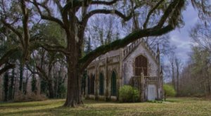 You Won't Find Another Chapel Anywhere In The World Like This One In Mississippi
