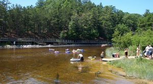 If You Didn't Know About These 9 Swimming Holes In Michigan, They're A Must Visit
