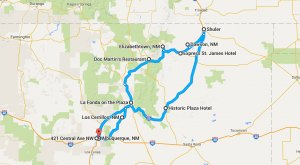 This Terrifying Northern New Mexico Road Trip Will Send Chills Up Your Spine