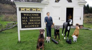 There's No Place In The World Like Dog Chapel in Vermont