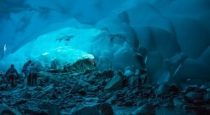 There's A Little Known Unique Ice Cave In Alaska… And It's Truly Extraordinary