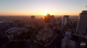 What This Drone Footage Caught In Nashville Will Drop Your Jaw