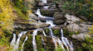 10 Unbelievable North Carolina Waterfalls Hiding In Plain Sight… No Hiking Required