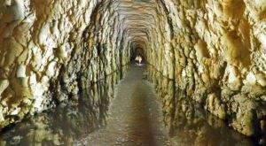 Walk Through The Stumphouse Mountain Tunnel, A Little-Known Historic Destination In South Carolina