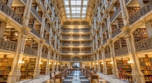 You'll Want To Visit This Incredibly Majestic Library In Maryland