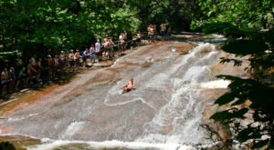 This Natural Waterslide In North Carolina Will Make Your Summer Epic