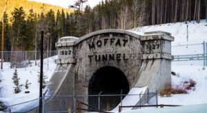A Unique Structure In Colorado, The Moffat Tunnel Has A Fascinating History