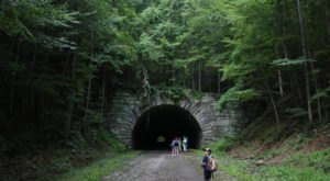 Most People Aren't Aware That This Unique Tunnel In North Carolina, The Road To Nowhere, Even Exists