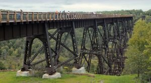 An Easy Hike In Pennsylvania, The Kinzua Bridge Sky Walk Will Lead You Someplace Unforgettable