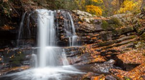 6 Unbelievable Virginia Waterfalls Hiding In Plain Sight… No Hiking Required