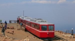 This Historic Railway In Colorado Offers The Best Views From Atop This World Famous Mountain