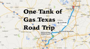 9 Amazing Places You Can Go On One Tank Of Gas In Texas