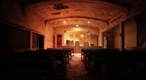 What Was Discovered Inside This Abandoned Funeral Home Will Give You Goosebumps