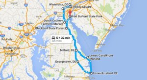 10 Amazing Places You Can Go On One Tank Of Gas In Delaware