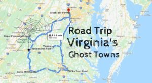 A Haunting Road Trip Through Virginia Ghost Towns That You Surely Won't Forget