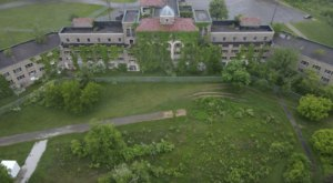 What This Drone Captured At This Abandoned Ohio Mental Hospital Is Truly Grim