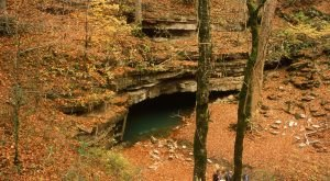 Hiking To This Above Ground Cave In Kentucky Will Give You A Surreal Experience