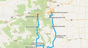 9 Amazing Places You Can Go On One Tank Of Gas In Colorado