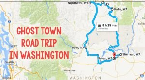 This Haunting Road Trip Through Washington Ghost Towns Is One You Won't Forget