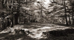 This Secret Massachusetts Cemetery Has A Haunting History