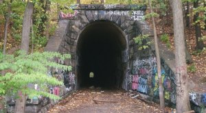 Most People Have No Idea This Unique Tunnel In Clinton, Massachusetts Exists