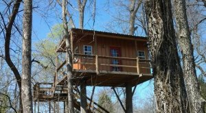 This Treehouse In Oklahoma Will Give You An Unforgettable Experience