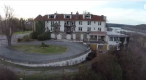 What This Drone Footage Captured At This Abandoned West Virginia Hotel Is Truly Grim