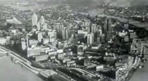 This Rare Footage In The 1950s Shows Pittsburgh Like You've Never Seen Before