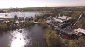 What This Drone Footage Captured At This Abandoned New Orleans Place Is Truly Grim