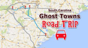 This Haunting Road Trip Through South Carolina Ghost Towns Is One You Won't Forget