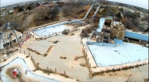 What This Drone Footage Captured At This Abandoned Texas Water Park Is Truly Grim