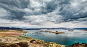 There's Something Incredible Hiding Beneath This Nevada Lake…And You'll Want To See It
