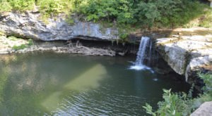This Waterfall Swimming Hole In Ohio Is Perfect For A Summer Day