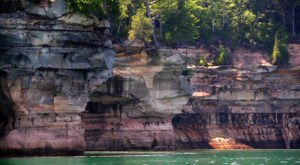 Exploring These Sea Caves In Michigan Will Give You A Surreal Experience