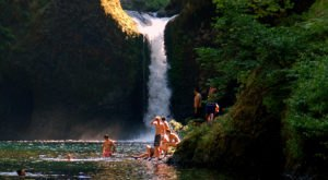 This Waterfall Swimming Hole In Oregon Is Perfect For A Summer Day