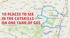10 Amazing Places You Can Go On One Tank Of Gas In New York