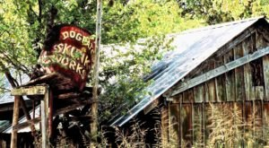 You Won't Believe This Abandoned Hillbilly Theme Park Is Hiding In The Hills Of Arkansas
