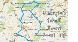 Take This Road Trip Through Georgia's Most Picturesque Small Towns For An Unforgettable Experience