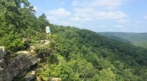 There's A Place Called Devil's Canyon In Arkansas And It's Basically Heaven
