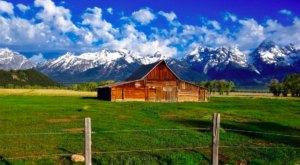 These Historic Barns In Wyoming Have The Best Views Of The Grand Tetons
